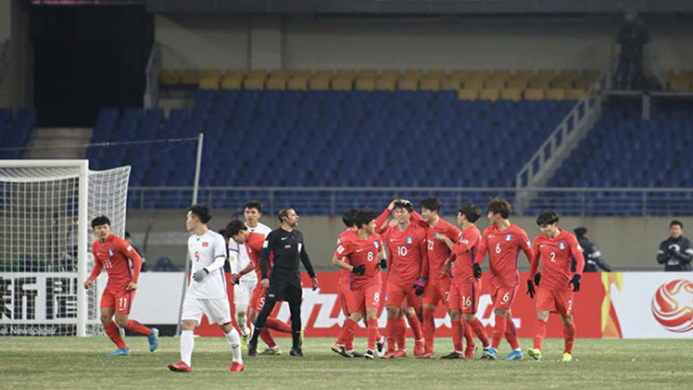 U23 Việt Nam, U23 hà Quốc, thi đấu, vòng chung kết, sít sao