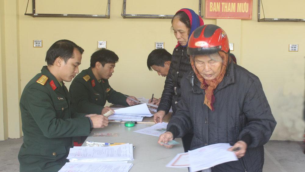 Thêm 316 đối tượng được chi trả trợ cấp theo các Quyết định của Thủ tướng Chính phủ