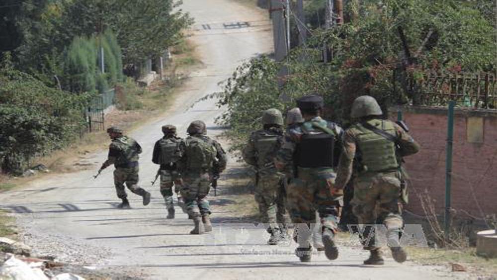 Binh sĩ, Ấn Độ, Pakistan, đấu súng, dọc đường, kiểm soát, Kashmir