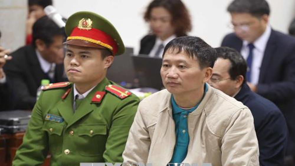 Xét xử, Trịnh Xuân Thanh, đồng phạm, luật sư, phân tích, chứng cứ, gỡ tội, bị cáo