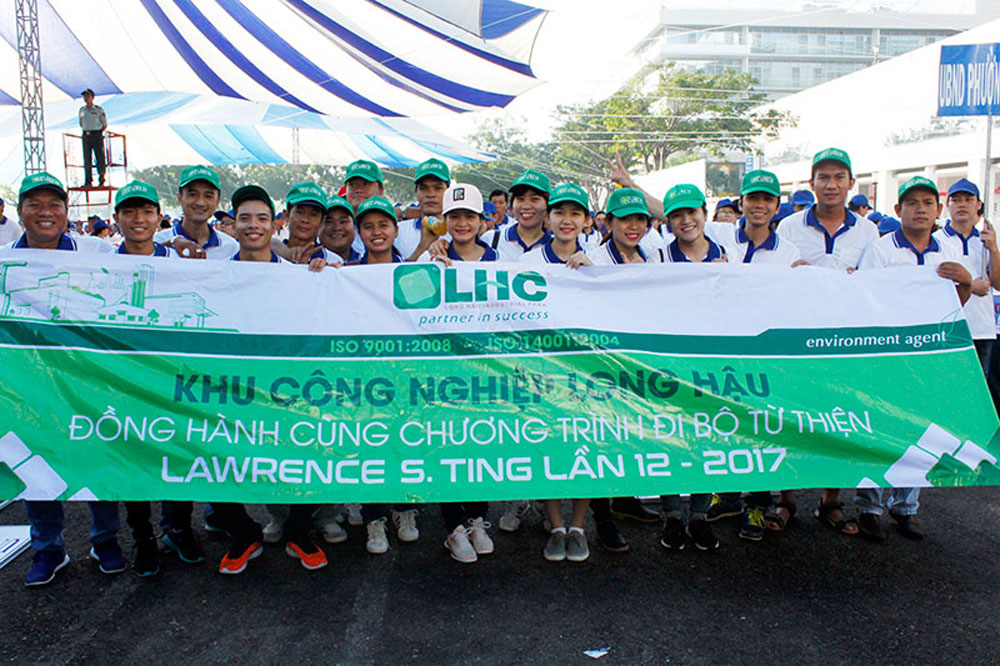 13th Lawrence S. Ting, Charity Walk, HCM City, Phu My Hung, broadcast live, artistic performances, lucky draw, financial support, traditional event