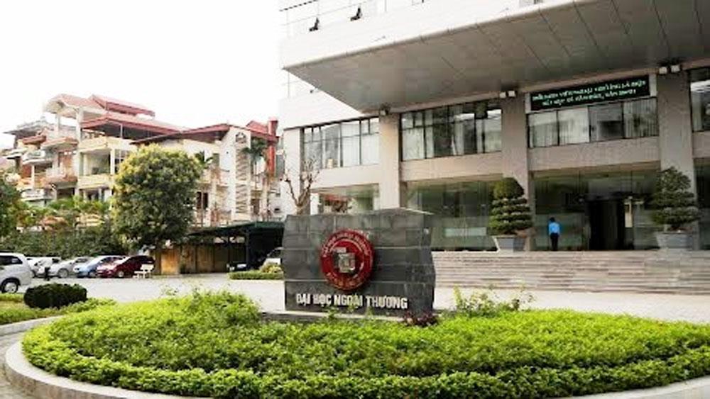 Đại học Ngoại Thương công bố phương án tuyển sinh năm 2018