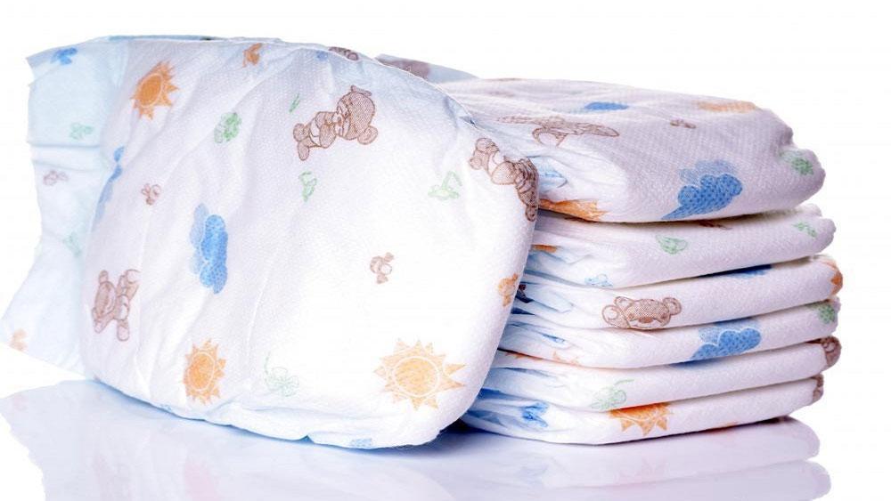 tã giấy, tã vải, trẻ sơ sinh