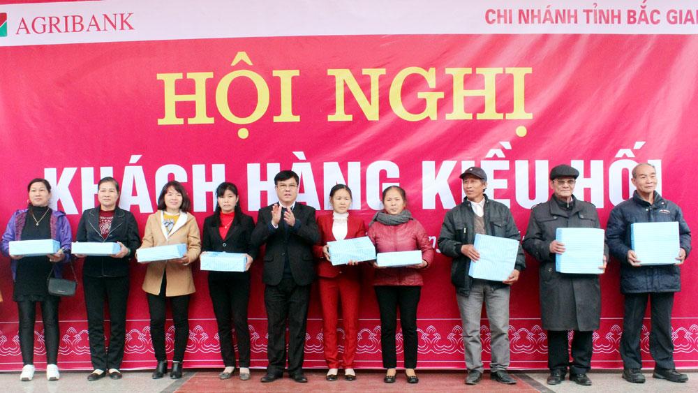 Agribank,  Chi nhánh tỉnh Bắc Giang, Chi trả hơn 32 triệu USD,  khách hàng