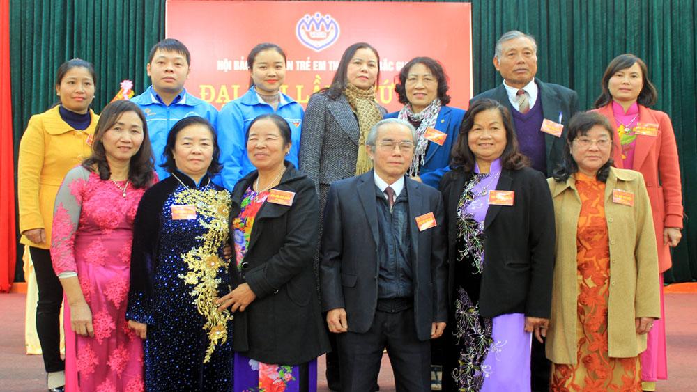 Ông Giáp Văn Quynh, Chủ tịch,  Hội Bảo vệ quyền trẻ em,  TP Bắc Giang,  nhiệm kỳ 2017-2022