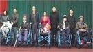 Trao xe lăn cho người khuyết tật