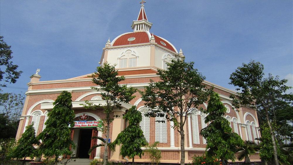 Nhà thờ đẹp nhất vùng sông nước miền Tây