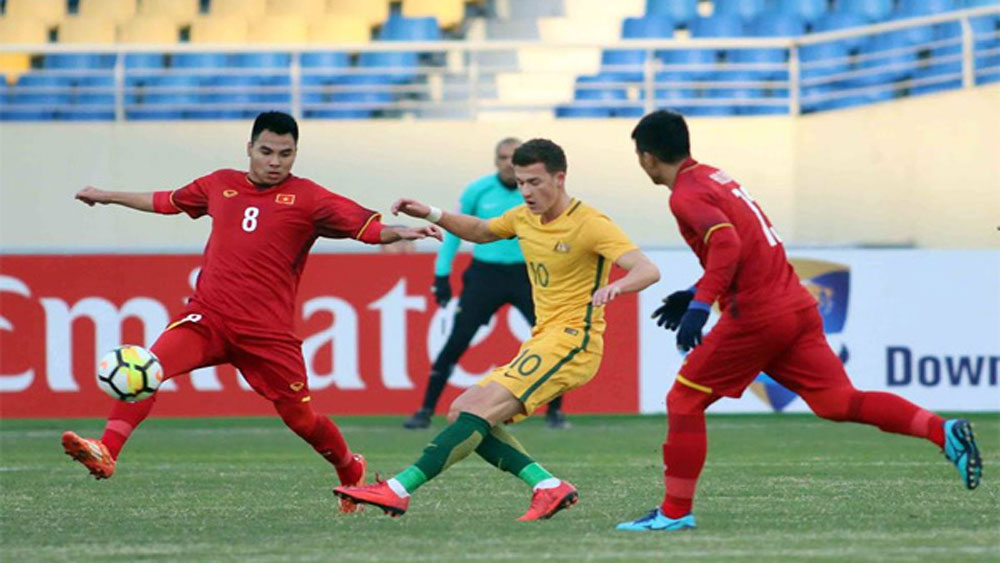 Vietnam's football makes history with victory over Australia in U-23 Asian Cup