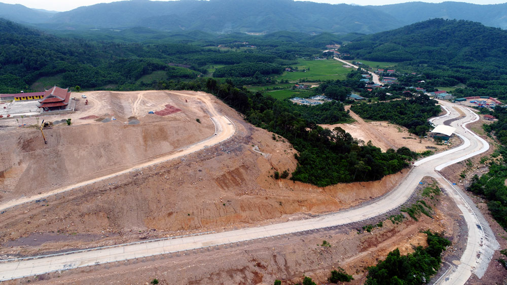 Project of Tay Yen Tu spiritual ecological tourism complex accelerated