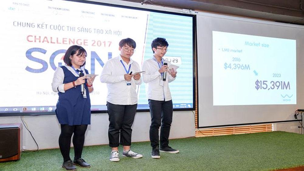 Học sinh Lâm Đồng giành giải Nhất cuộc thi sáng tạo xã hội 2017