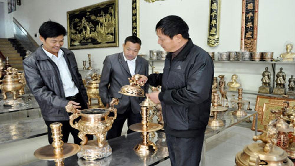Efforts to preserve bronze casting village