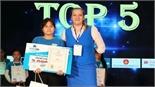 Gặp cô học trò vào top 5 toàn quốc cuộc thi Vô địch tiếng Anh