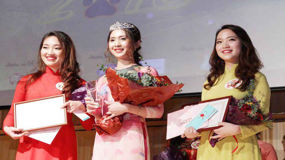 Hoa khôi du học sinh Việt tại xứ sở mặt trời mọc năm 2017