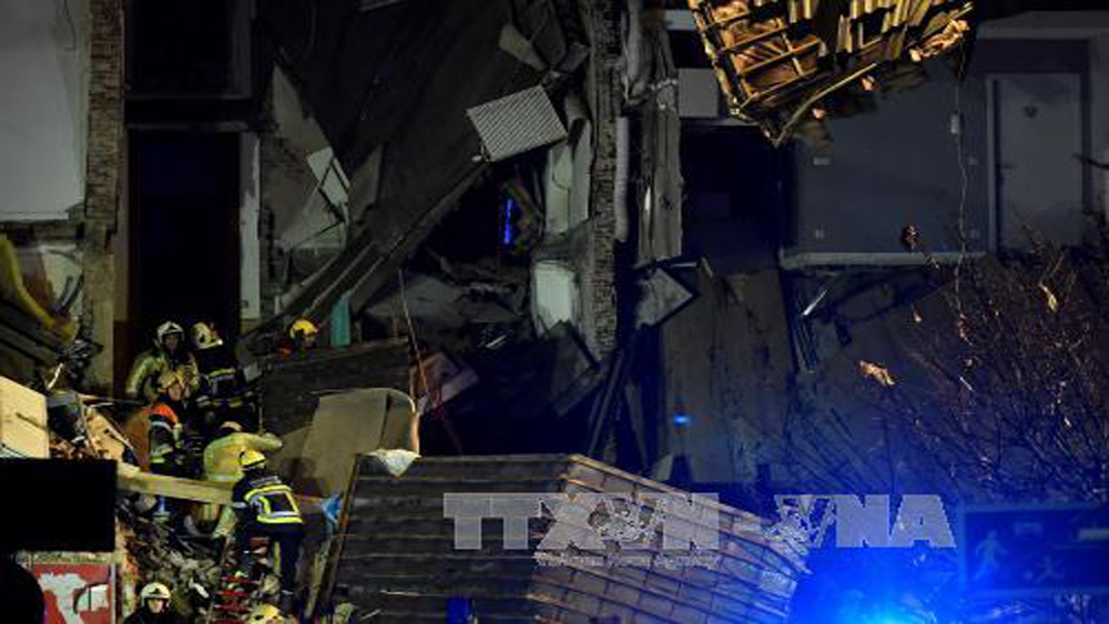 Tìm thấy hai thi thể trong vụ nổ tại Bỉ