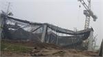 Sập giàn giáo ở Hà Nội, 3 người chết, 3 người trọng thương