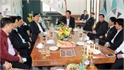 Dự chương trình Cafe doanh nhân, Bí thư Tỉnh ủy Bùi Văn Hải: