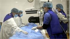 Bệnh viện Đa khoa tỉnh: Triển khai kỹ thuật nút mạch trong điều trị giãn tĩnh mạch tinh