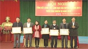 Huyện ủy Hiệp Hòa tổng kết công tác lãnh đạo năm 2017