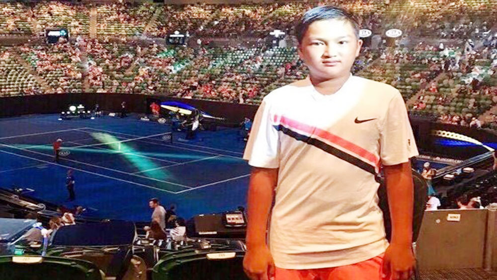 Vietnamese boy wins double at Melbourne Open