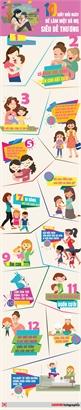 10 giây mỗi ngày để trở thành bà mẹ siêu dễ thương