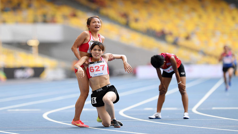 "Bac Giang's athelete wins prize of ""most impressive image"""