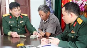 Chi trả truy lĩnh trợ cấp cho 32 thương binh