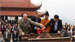 Bắc Giang: Lễ đúc chuông chùa Tây Yên Tử