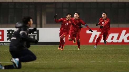 Thắng kịch tính Iraq, Việt Nam vào bán kết Giải U23 châu Á