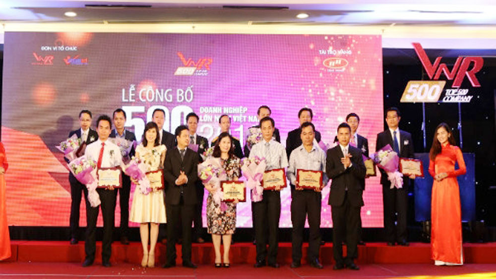 Top 500 Vietnamese firms in 2017 honoured