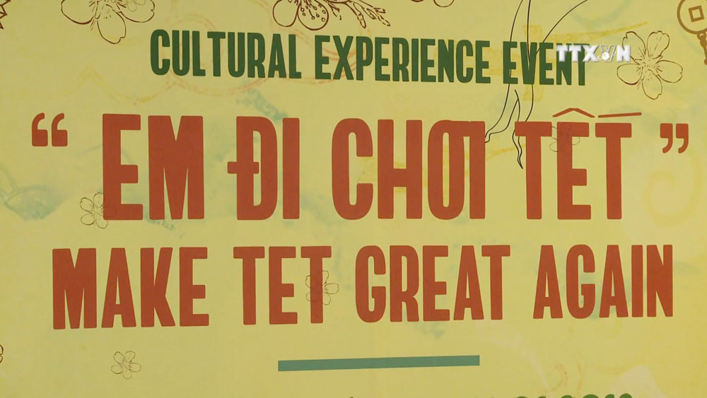 Cultural event brings Tet closer to children