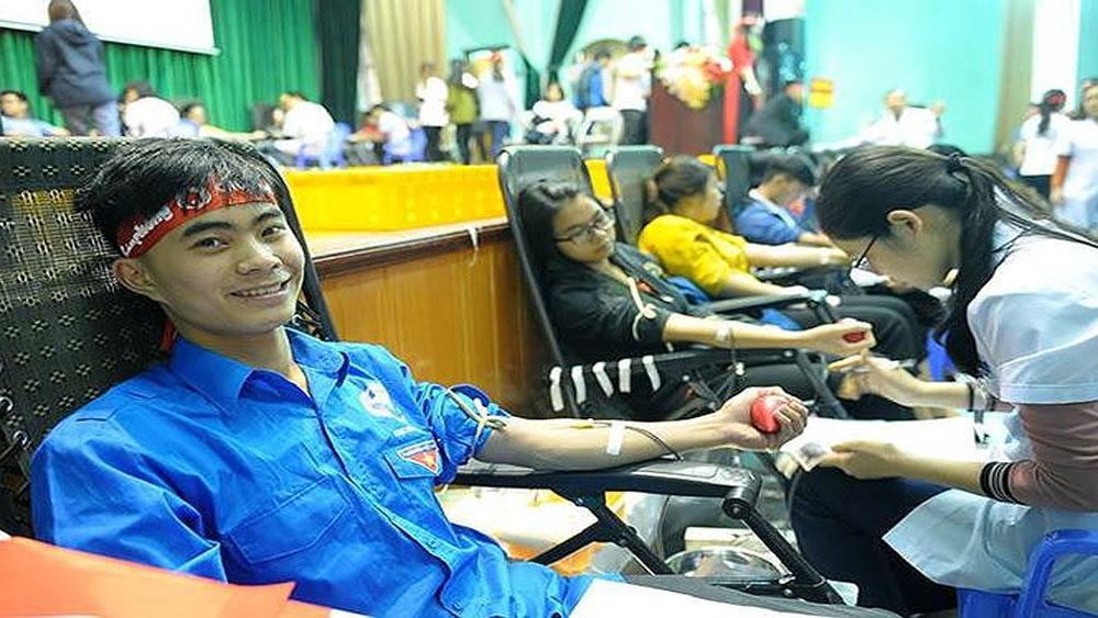 đến 22-1, Chủ Nhật Đỏ, gần 40.000 đơn vị máu