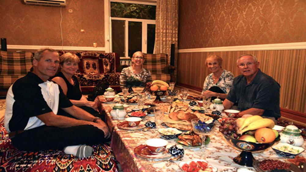 điều thú vị, Uzbekistan, lục địa