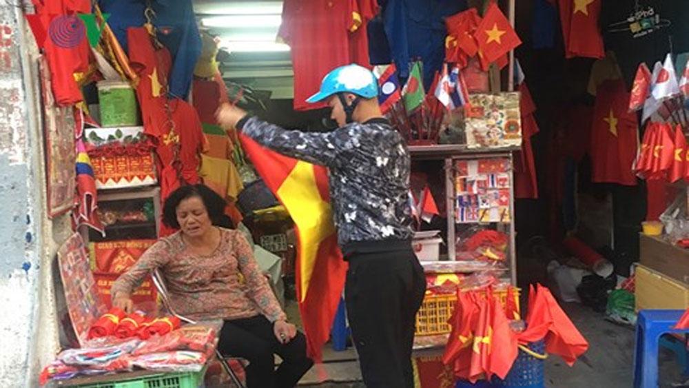 """Nở rộ, dịch vụ, """"ăn theo"""", chiến thắng, U23 Việt Nam, Hà Nội"""