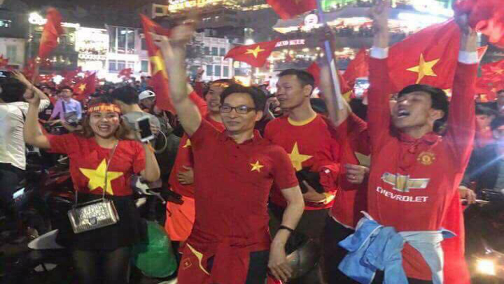 Vietnam's deputy PM takes to the streets to celebrate U23 Asian Cup semifinal victory