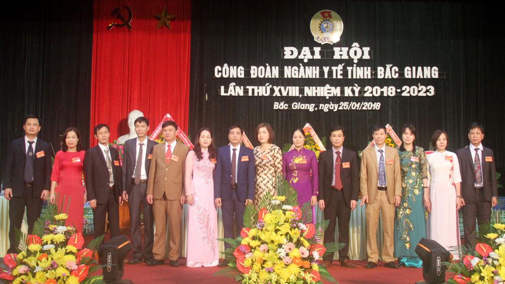Bắc Giang, Đại hội, công đoàn, ngành y tế