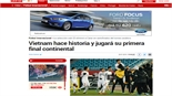 Báo thể thao hàng đầu Tây Ban Nha đưa tin về U23 Việt Nam