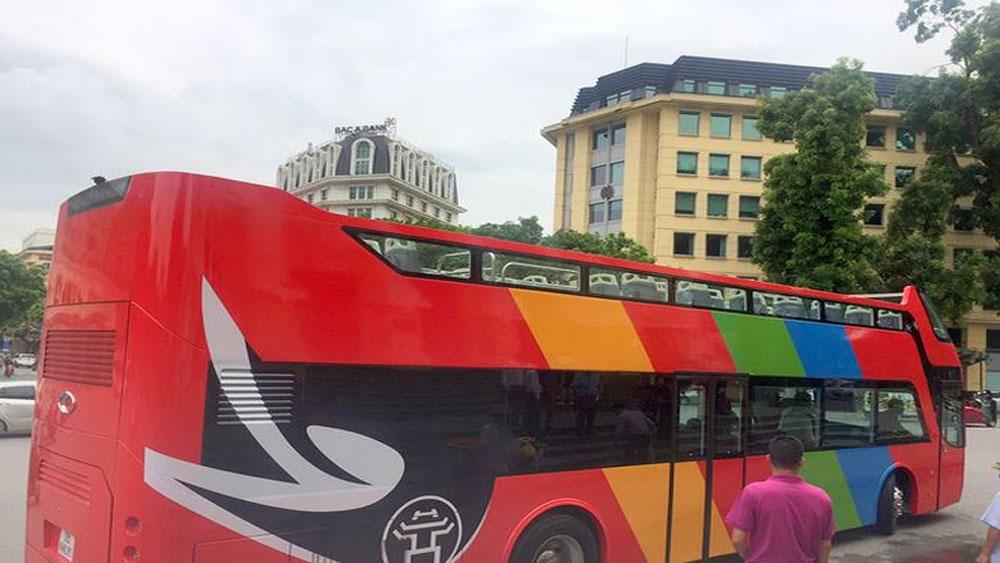 Lộ trình, diễu hành, U23 Việt Nam, xe buýt 2 tầng