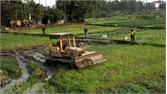 Cưỡng chế thu hồi đất phục vụ dự án khu dân cư đường Xương Giang