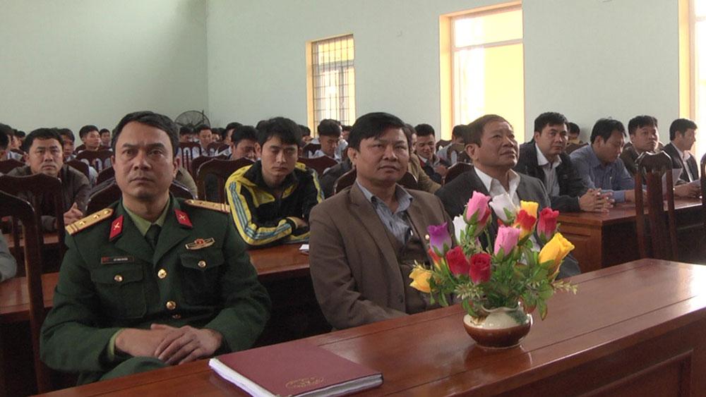 Đón nhận 188 quân nhân hoàn thành nghĩa vụ quân sự trở về địa phương