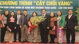 Chị Đỗ Thị Hiền giành 'Cây chổi Kim Cương'