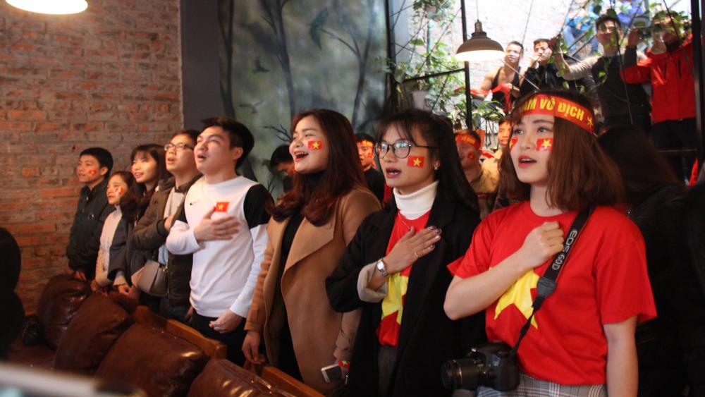 Bắc Giang: Cuồng nhiệt cổ vũ trận chung kết đội tuyển U23 Việt Nam gặp U23 Uzbekistan