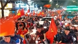 Lịch cảnh sát giao thông dẫn đoàn đón đội tuyển U23 Việt Nam về Hà Nội