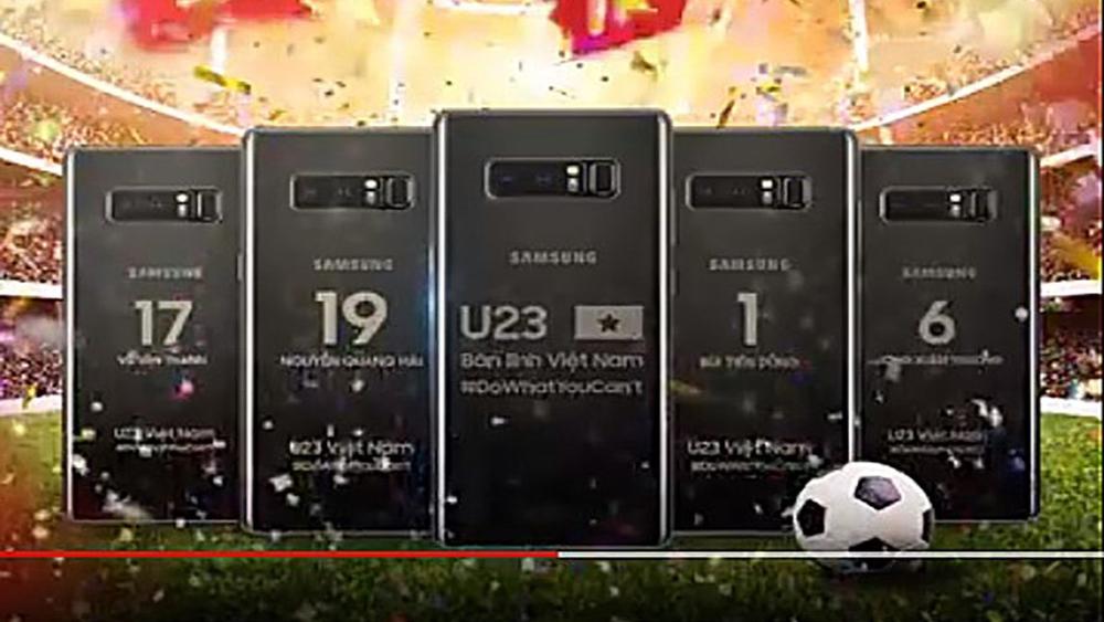 """Đội tuyển bóng đá U23 Việt Nam được tặng nhiều quà công nghệ """"khủng"""""""