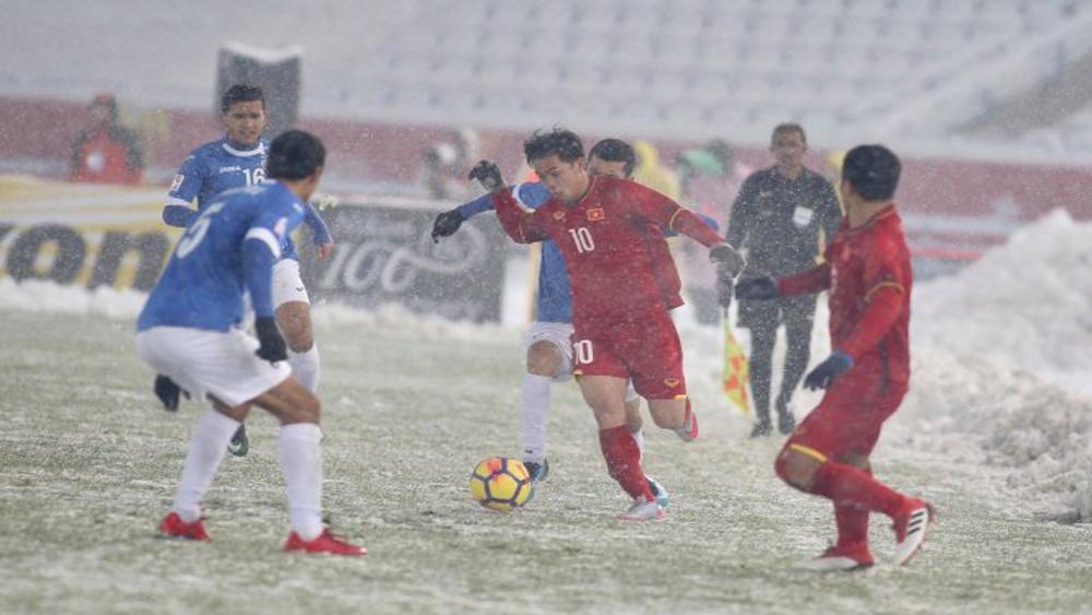 Việt Nam 1-1 Uzbekistan: Thế trận giằng co 90 phút thi đấu chính thức