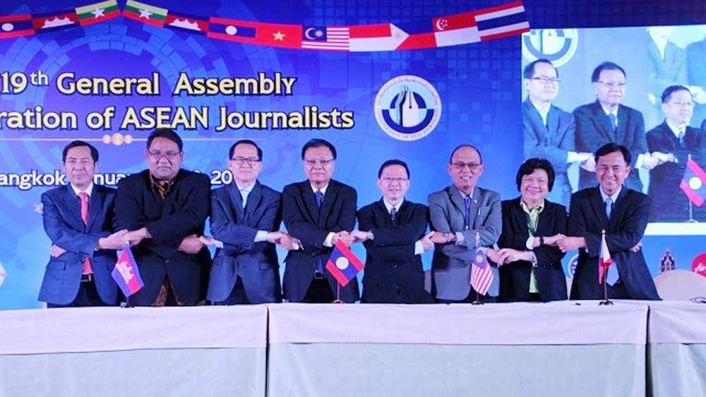 Vietnam attends Confederation of ASEAN Journalists' General Assembly