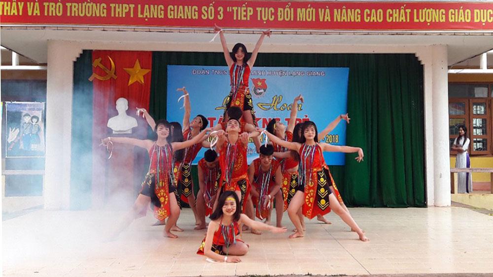 Liên hoan Tài năng trẻ huyện Lạng Giang