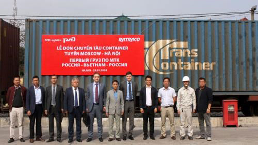 First container train links Russia and Vietnam