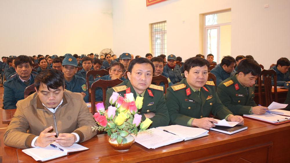 Nâng cao trình độ cho đội ngũ cán bộ quân sự ở cơ sở