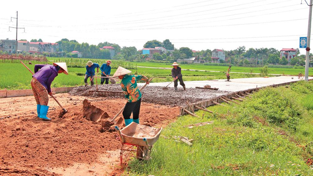 Xây dựng huyện nông thôn mới: Phấn đấu về đích vào năm 2020