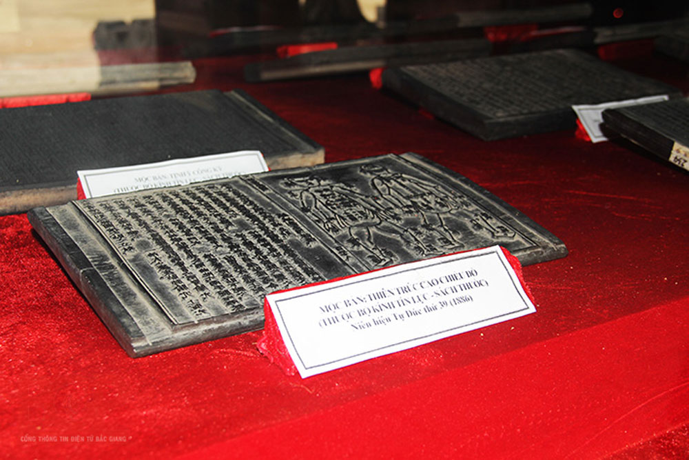Vinh Nghiem pagoda, woodblocks, Bac Giang province, carved woodblocks, UNESCO, world documentary heritage, valuable documents, scientific studies, precious heritage, socio-cultural development, tourism development